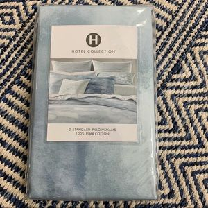 Hotel Collection Ethereal Pima Cotton pillow shams